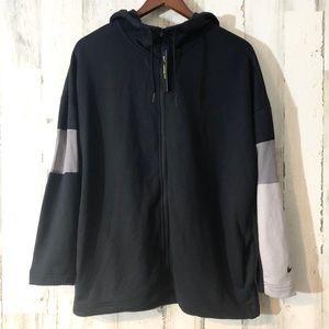 Women's fleece Nike hoodie